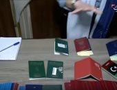 فيديو.. شاهد أختام تركية على جوازات سفر مقاتلى داعش الأجانب
