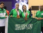 صور.. سعوديتان تحصدان 12 ميدالية بأول مشاركة نسائية سعودية فى رفع الأثقال