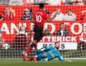راشفورد يخطف هدف التقدم لمانشستر يونايتد أمام واتفورد في الشوط الأول.. فيديو