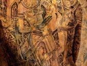"""معرض """"سكن"""" لكريم عبد الملك يناقش المحبة فى الناس"""