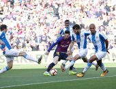 برشلونة ضد إسبانيول.. شوط أول سلبى وميسي يدخل تاريخ ديربى كتالونيا