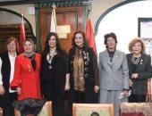"""لجنة المرأة بالجمعية """"المصرية اللبنانية"""" تشارك فى احتفالات يوم المرأة"""