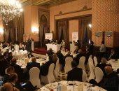 """نجوم السياسة والمجتمع فى حفل توقيع """"هكذا يحفزنا الأعظم"""" لرجل الأعمال منصور عامر"""