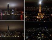 المعالم السياحية حول العالم تطفئ أنوارها لإنقاذ الكوكب فى ساعة الأرض.. فيديو