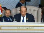 رئيس لبنان: سأتصدى لأى محاولة تستهدف المساس بالأمن والعيش المشترك فى الجبل