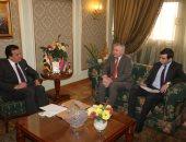 وزير التعليم العالى يبحث آليات التعاون العلمى مع سفير أرمينيا بالقاهرة