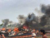 مصرع 7 أشخاص بينهم 4 طيارين إثر تحطم مروحية للجيش الأفغانى