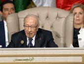 الرئيس التونسى يؤدى صلاة عيد الفطر بجامع مالك ابن انس بقرطاج