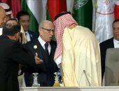 الملك سلمان يسلم السبسي رئاسة القمة العربية بتونس 30