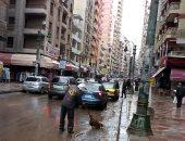 """لليوم الثالث.. استمرار هطول الأمطار على الإسكندرية """"صور"""""""