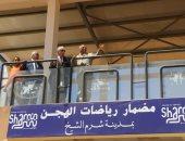 صور.. محافظ جنوب سيناء يتابع الأعمال النهائية لمضمار الهجن الدولى بشرم الشيخ