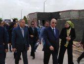 محافظ القاهرة يتفقد شارع 306 بالنزهة ومركز شبكات ومعلومات المحافظة