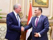 صور.. رئيس لجنة الشئون الاقتصادية بالبرلمان يلتقى سفير الدنمارك بالقاهرة