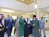 رئيسة مجلس الشيوخ الروسى تلتقى أمين عام رابطة العالم الإسلامى