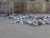 شكوى من انتشار القمامة بصقر قريش بمدينة نصر