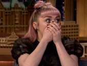 قبل عرض Game Of Thrones.. مايسى ويليامز تقع فى خطأ فادح.. فيديو وصور