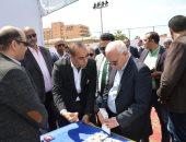 """صور.. محافظ بورسعيد يفتتح """"ملتقى بورسعيد للتوظيف"""" لتوفير 2000 فرصة عمل"""