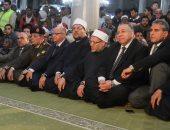 وزراء ومسئولون ومواطنون يحيون ذكرى الإسراء والمعراج من مسجد الحسين