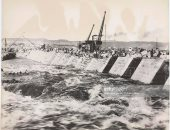 بعد مرور 120 عاماً على المشروع.. شاهد 10 صور لبناء خزان أسوان 1899
