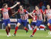 أتلتيكو مدريد يواصل مطاردة برشلونة فى الليجا بثنائية ضد جيرونا..فيديو