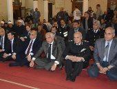محافظ الجيزة يشهد الاحتفال بليلة الإسراء والمعراج بمسجد أسد بن الفرات بالدقى