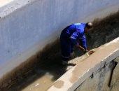 مياه القناة تنهى صيانة محطات جنيفه والشلوفه وأبوعارف بقطاع السويس