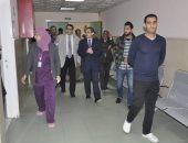 صور.. رئيس جامعة قناة السويس: إعادة تأهيل المستشفى التخصصى لزيادة القدرة الاستيعابية