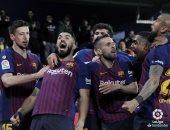 كل أهداف الثلاثاء.. ريمونتادا رائعة لبرشلونة أمام فياريال 4-4