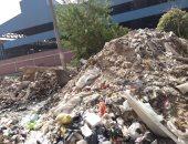 """جبل من القمامة.. شكوى """"ماجد"""" من محطة برتى جسر السويس القاهرة"""