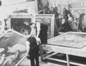 متحف بـ لندن يروى كيف تم الحفاظ على اللوحات خلال الحرب العالمية الثانية..صور