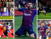 برشلونة ملك اللحظات القاتلة بالدوري الإسبانى هذا الموسم.. فيديو