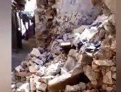 فيديو.. أهالى منطقة أبو رواش يستغثون لإزالة منزل أوشك على الانهيار خوفا على حياة أبنائهم