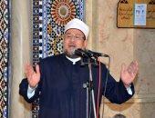 وزير الأوقاف يؤدى خطبة الجمعة بمسجد التليفزيون فى خطاب مترجم بـ15 لغة