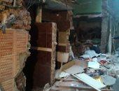 محافظ القاهرة يشكل لجنة لمعاينة العقارات المجاورة لعقار الزاوية المنهار بسبب تسرب غاز