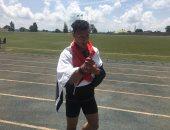 عبد الرحمن كرم يحصد فضية 100 متر رجال فى دورة حوض النيل