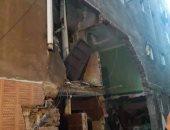 معاينة عقار الزاوية الحمراء: انفجار ماسورة غاز أدى لتحطم شقة وزاوية للصلاة