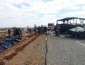 الشرطة اليونانية: مصرع 6 مهاجرين فى حادث مرورى بينهم مصريين