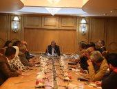 محافظ قنا يلتقى رئيس لجنة الصحة بالمجلس القومى لحقوق الانسان
