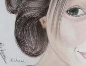 """""""ريهام"""" تشارك برسومات ولوحات فنية تظهر موهبتها"""