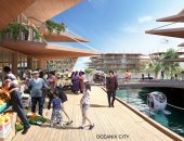 بسبب تغير المناخ.. شركة تقدم نموذجا لمدينة عائمة لا تتأثر بالكوارث.. صور
