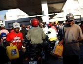 صور.. تفاقم أزمة الوقود فى هايتى وتكدس المواطنين أمام المحطات