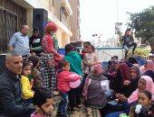 صور.. 300 جمعية يحتفلون بعيد اليتيم بكفر الشيخ
