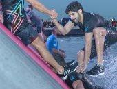 علموا أولادكم السباحة والرماية.. ولى عهد دبى يتصدر دورة الألعاب الحكومية.. صور