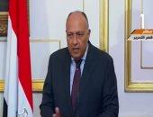 وزير الخارجية: إرادة سياسية قوية لدى الرئيسين لتوطيد العلاقات بين البلدين