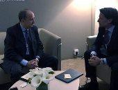 مباحثات لوزير الصناعة مع كبرى الشركات العالمية المشاركة بمنتدى دافوس بالأردن