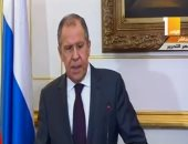 لافروف: حجم التبادل التجارى بين القاهرة وموسكو تخطى 70 مليار دولار