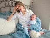 """""""البيبى بلو"""".. حالة نفسية تصيب الأمهات بعد الولادة"""