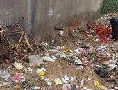 شكوى من انتشار القمامة أمام البوابة الرئيسية لسوق بنها