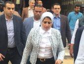 وزيرة الصحة تشدد على إنهاء تجهيزات مستشفى بور فؤاد قبل منتصف يونيو