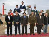 صور ..وزير الرياضة يحضر ختام كأس مصر للفروسية